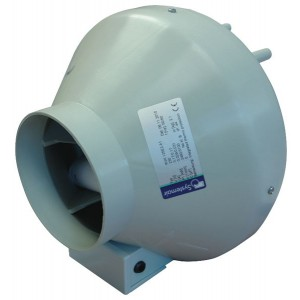 Extracteur Centrifuge SYSTEMAIR - RVK 125E2-A1 - Diam. 125 mm - Débit 220 m3/h