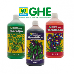GHE Flora Series - 3x1L (Hard water)