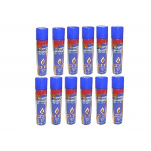"Gaz à Briquet ""ATOMIC"" 300ml x 12"