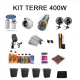 Kit Terre 1m2 - 400w sans Box