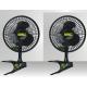 Profan Clip Fan 20cm - 7.5 Watts x2
