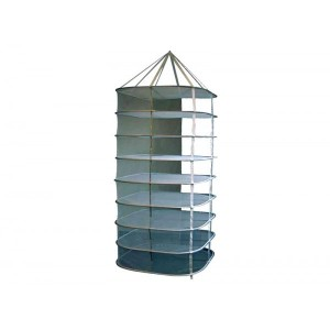 Filet de séchage Carré Blanc 45x45cm / 5 niveaux