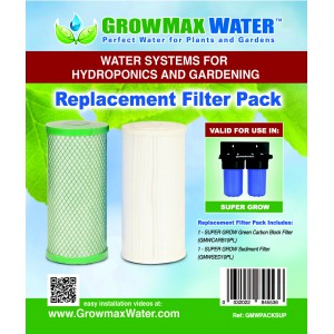 GrowMax Water - Pack Cartouches de Rechange - Super Grow