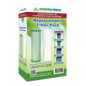 GrowMax Water - Pack Cartouches de Rechange - Eco Grow et Osmoseurs