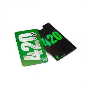 """Grinder Card """"420"""""""