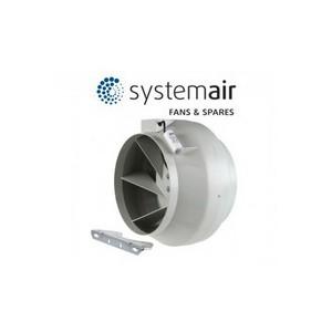SYSTEMAIR - RVK 200E2-L1 - Diam. 200 mm - Débit 950 m3/h
