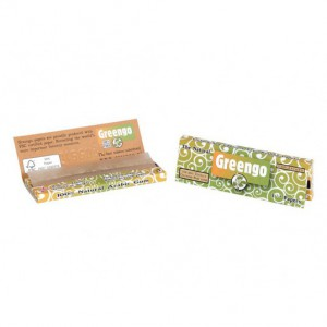 GREENGO - Carnet de feuilles - Format 1-1/4
