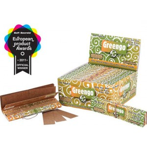 GREENGO - Carnet de feuilles - King Size + Filter Tips (x24 unités)