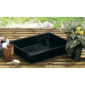 Garland Black Tray 64.5x49.5x12cm