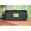 Garland Black Tray 79x40x4cm