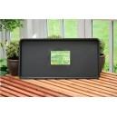 Garland Black Tray 79x40x4cm