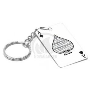 "Porte clés Grinder Card ""ACE"""