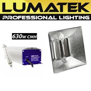 KIT LUMATEK 630W CMH + PRO DOUBLE-ENDED