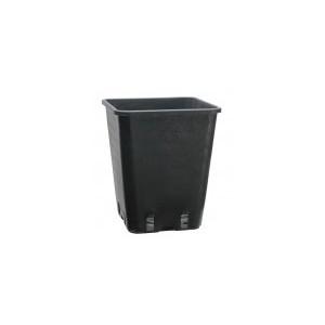 Pot Carré Noir Pro 11L (22x22x26cm)
