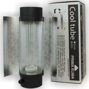 Cool Tube PK 125x400mm - Verre BSG + Ailettes
