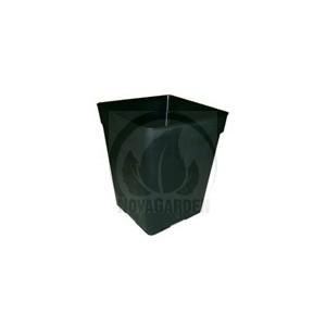 Pot Carré Noir Pro 6.0L (18x18x23cm)