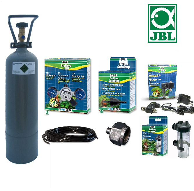 Kit co2 jbl complet bouteille rechargeable 10kg for Chambre de culture kit complet cannabis
