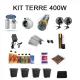 Kit Terre 1m2 - 400w sans Box