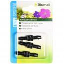 Raccord Blumat - Jonction 8-8 mm - Blister (x3)