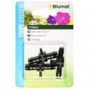 Raccord Blumat - TE 8-3-8 mm - Blister (x3)